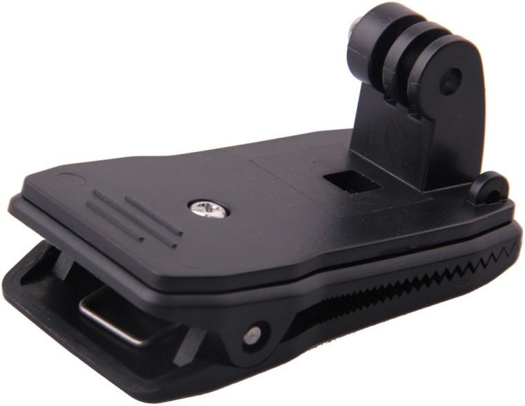 Клипса зажим для крепления экшн камеры на ремень или одежду