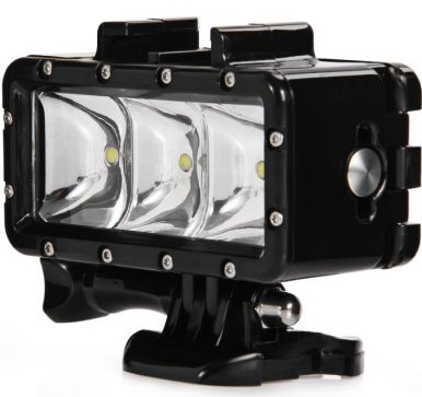 Фонарь для экшн камеры (видеосвет)